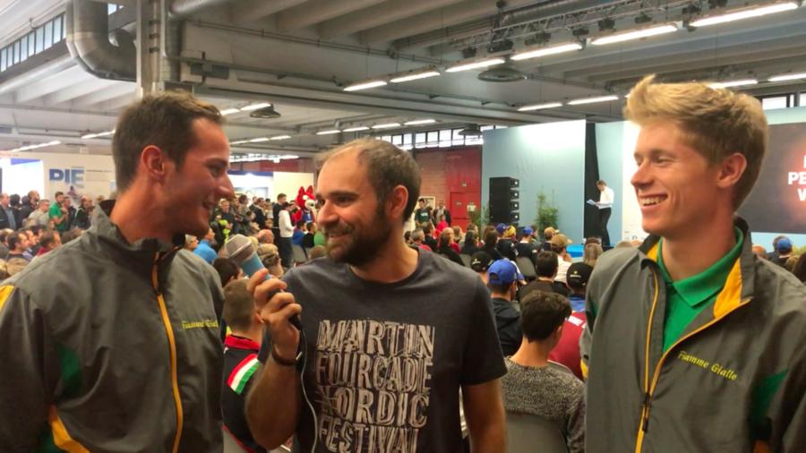 Fondo - Intervista doppia ai due talenti azzurri: Luca Del Fabbro e Davide Graz