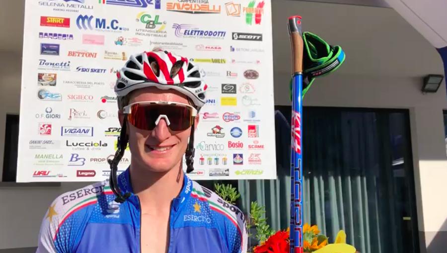 """VIDEO - La soddisfazione di Daniele Serra, dominatore del Trofeo Penne Nere: """"Spero sia di buon auspicio"""""""