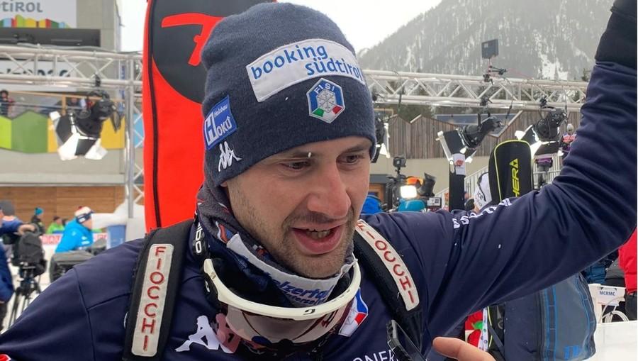 """Dominik Windisch: """"Peccato quell'errore finale, ma questa gara mi ripaga dei sacrifici fatti a gennaio gareggiando sul dolore"""""""