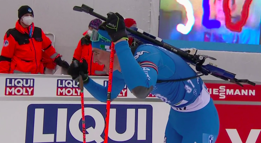 """Biathlon - Didier Bionaz felice a fine Mondiale: """"Un'esperienza che mi servirà, anche per gestire la pressione"""""""