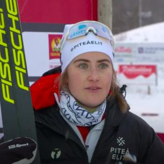 Sci di Fondo - Ebba Andersson domina la 30 km di Kalix, mentre Frida Karlsson si ritira!