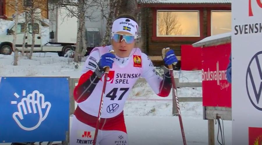 Fondo - Ebba Andersson senza avversarie nella 10 km in skating dei Campionati Svedesi