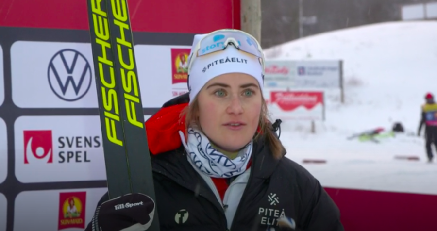 Granfondo - Ebba Andersson subito vincente nel Visma Ski Classics: sua la Vålådalsrennet
