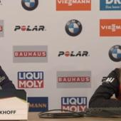 """Biathlon - Tandrevold risponde a Wierer: """"Volevo arrivarle davanti ma non ho provato a ostacolarla"""""""