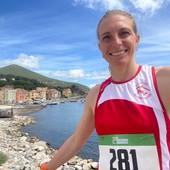 Sci di Fondo - Elisa Brocard inizia la sua preparazione giungendo seconda al Giro Podistico dell'Isola d'Elba