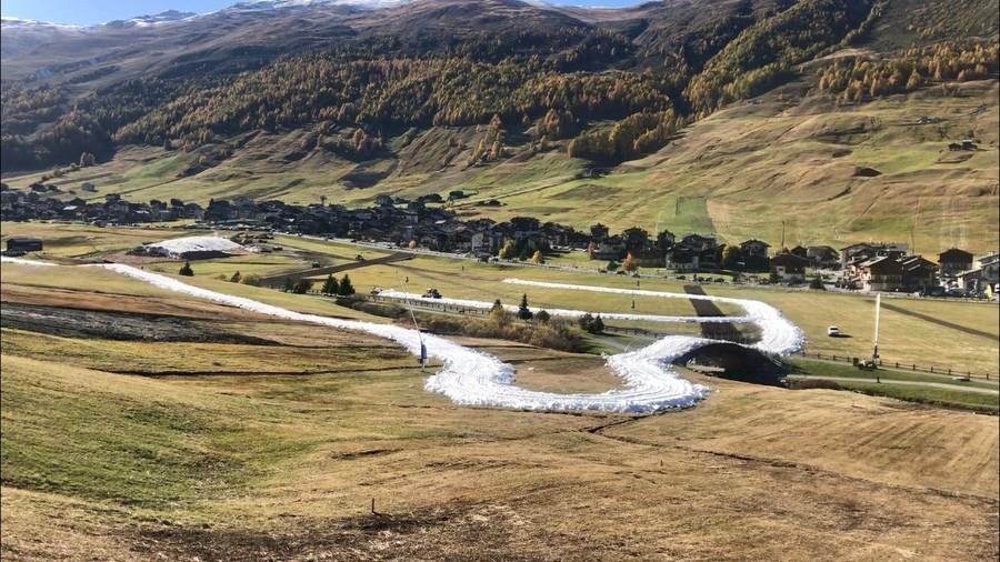 Fondo - A Livigno è quasi ultimato l'anello di fondo che aprirà il 19 ottobre