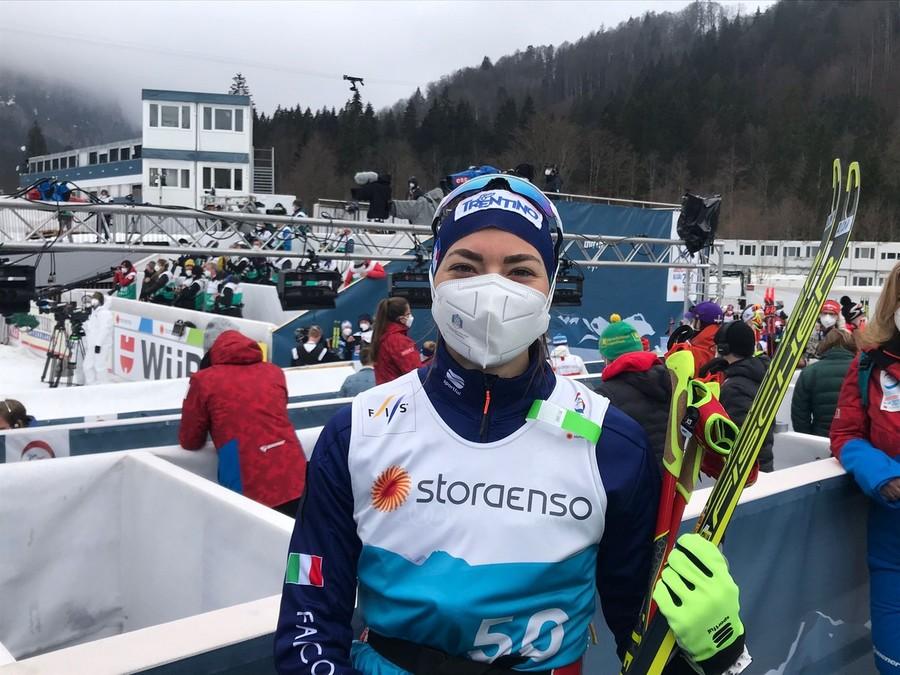 "Fondo - Francesca Franchi: ""Esordire con lo skiathlon è una forte emozione"""