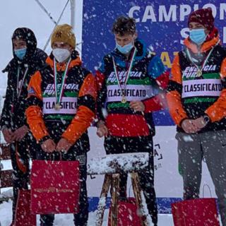 Fondo - Campionati Italiani Under 16: Comitato FVG ed Alpi Occidentali vincono le staffette