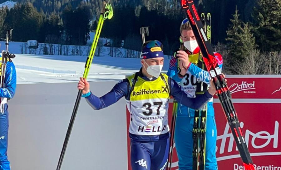 """Biathlon - Fabio Piller Cottrer festeggia il suo argento: """"Non me lo sarei mai aspettato"""""""