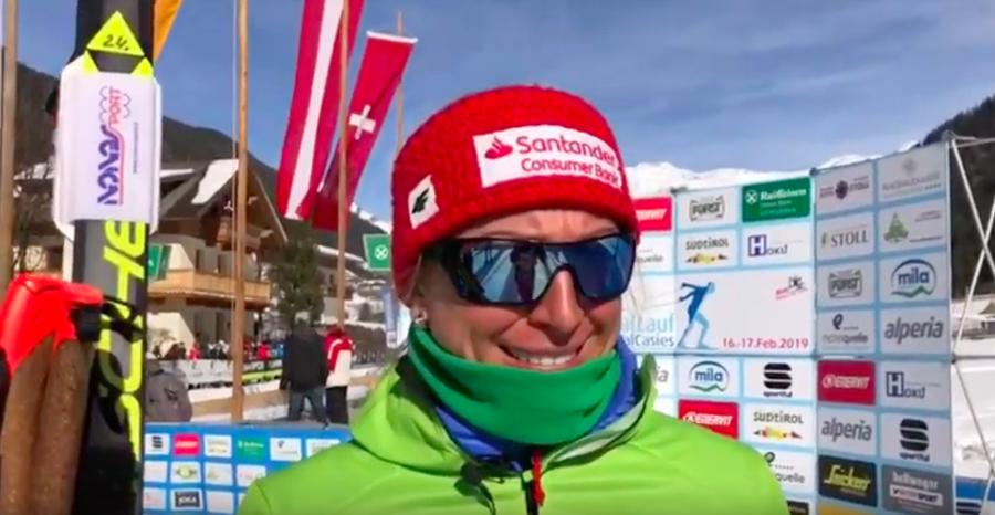 VIDEO - Gran Fondo Val Casies: interviste a Justyna Kowalczyk e Oskar Kardin