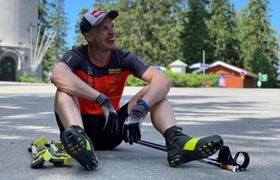 Foto da Instagram dell'atleta finlandese
