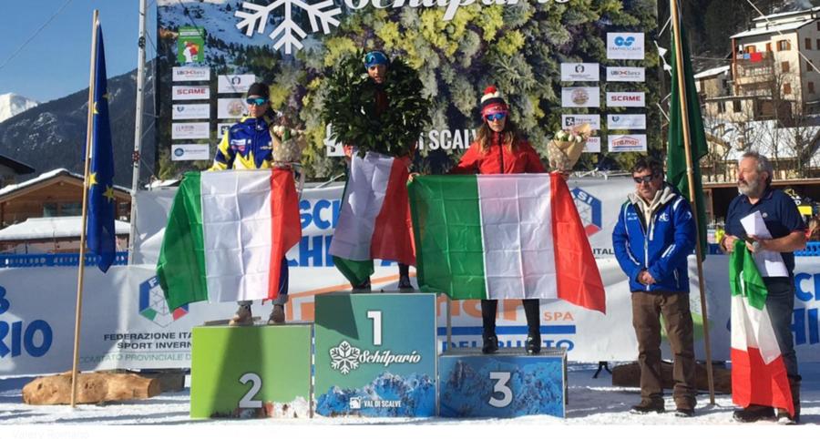 Fondo - Campionato Italiano U16: Nadine Laurent vince la 5km in classico di Schilpario