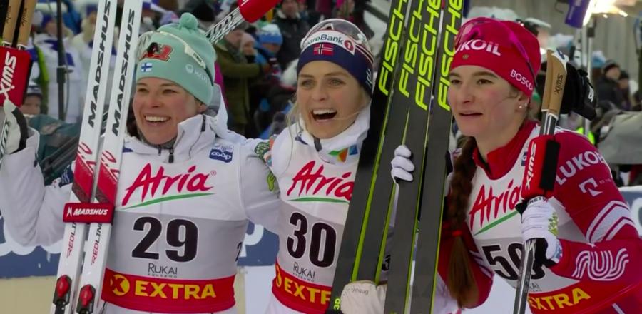 Fondo - Imperiale Therese Johaug: netto successo nella 10km in classico davanti a Parmakoski e Nepryaeva