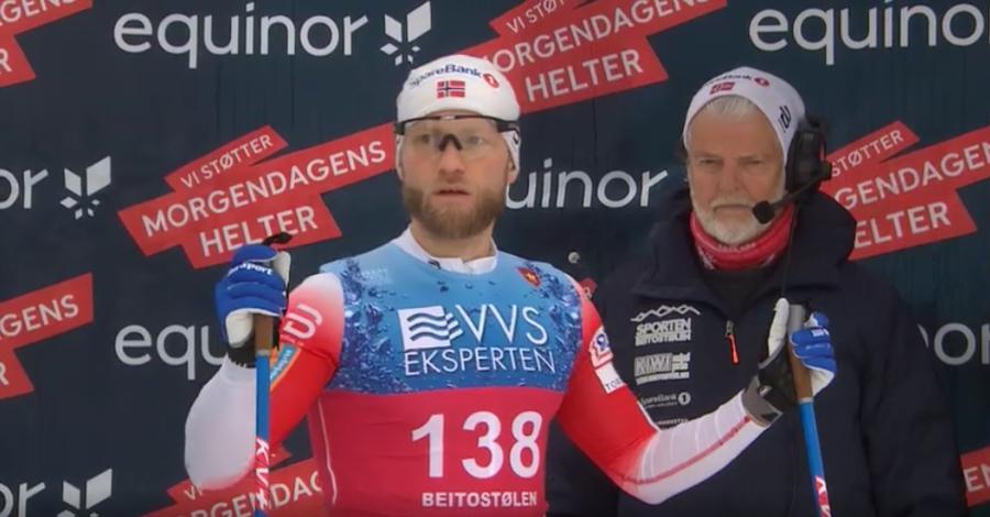 """Fondo - NRK: """"Sundby fuori dalla squadra nazionale"""""""
