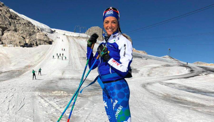Video, Fondo - Caterina Ganz parla in occasione della presentazione delle gare fiemmesi del Tour de Ski