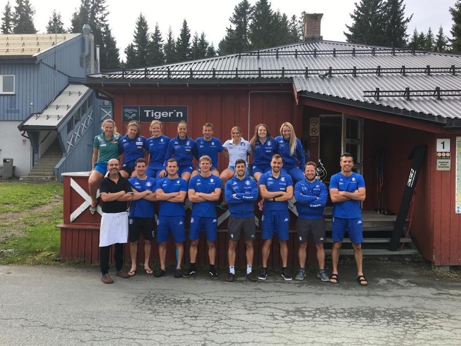 FOTOGALLERY, Fondo - Le immagini del lungo raduno della nazionale azzurra in Norvegia