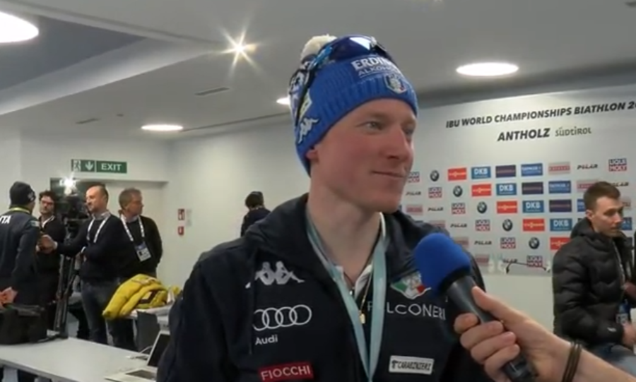 "VIDEO, Biathlon - Lukas Hofer: ""Per me Anterselva è speciale, voglio godermi questo evento"""