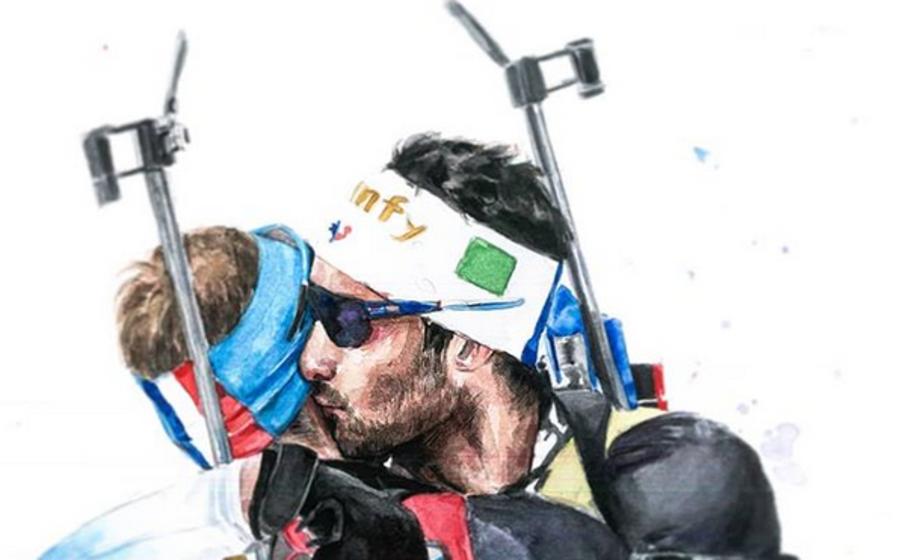Biathlon - Martin Fourcade vince anche in libreria: i suoi libri hanno venduto centomila copie