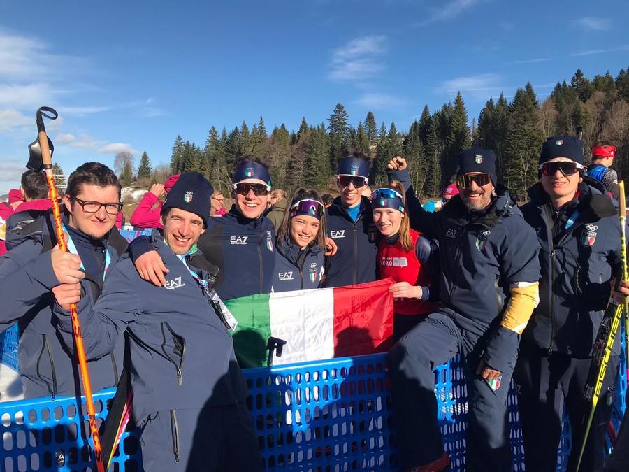 Losanna 2020 - Risultato storico per il biathlon italiano: la staffetta mista è d'oro alle Olimpiadi Giovanili!