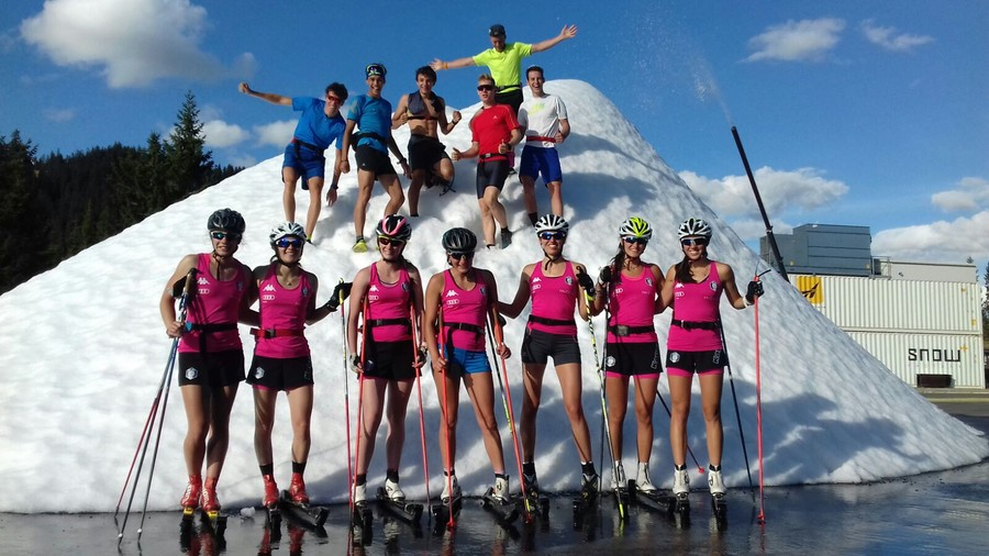 Sci di fondo: la nazionale Under 20 maschile e femminile è in raduno a Moena