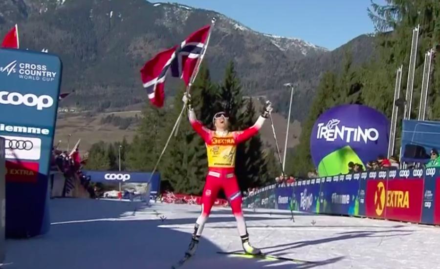 Dopo il Tour de Ski, ancora un trionfo per Therese Johaug
