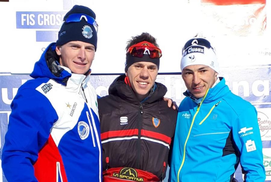 Fondo - Coppa Italia: Stefano Gardener in gran forma, vince la 15km skating di Santa Caterina