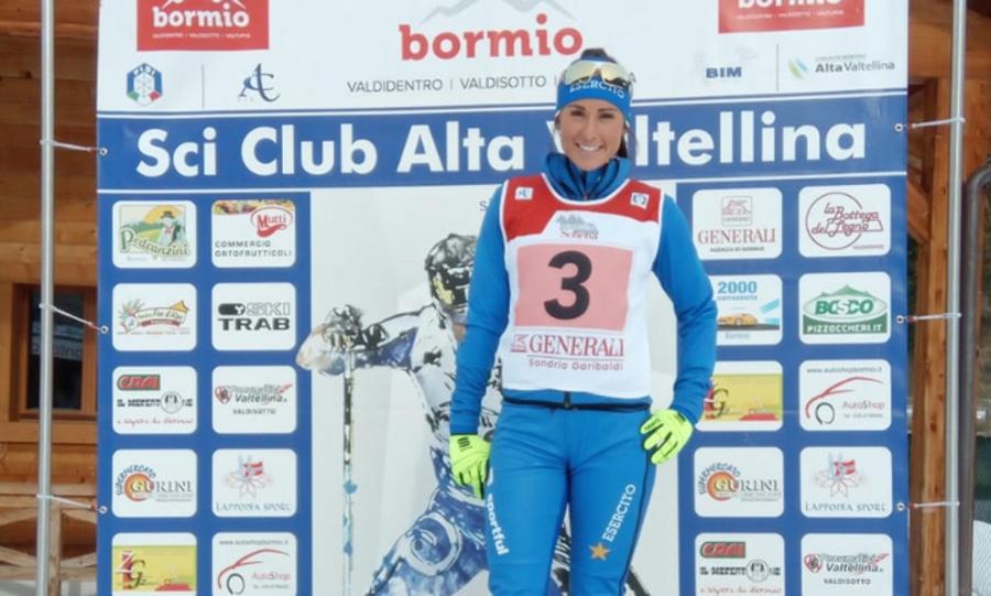 Fondo - Coppa Italia: Alice Canclini fa sua la sprint in tecnica libera di Santa Caterina