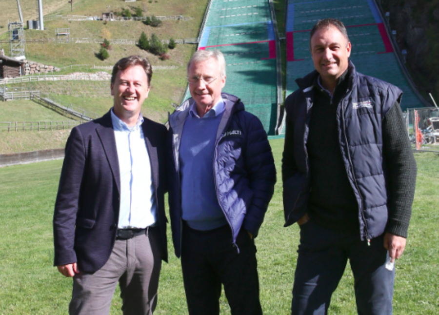 FIS e CIO applaudono la Val di Fiemme: ok i sopralluoghi allo stadio del salto