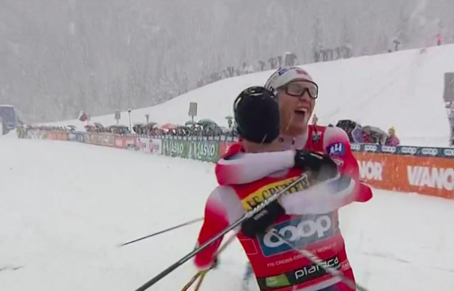 Fondo - Doppietta norvegese nella team sprint maschile di Planica; Italia 5ª con Zelger e Pellegrino