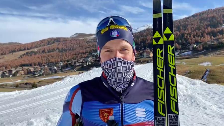 """VIDEO, Fondo - Dietmar Nöckler: """"Speriamo di poter presto fare le gare"""""""