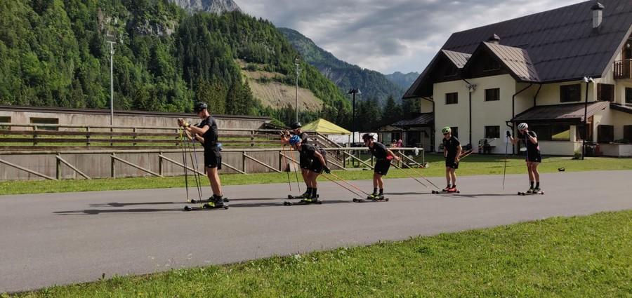 Sci di Fondo - Raduno a Forni Avoltri per squadra juniores e gruppo AIN