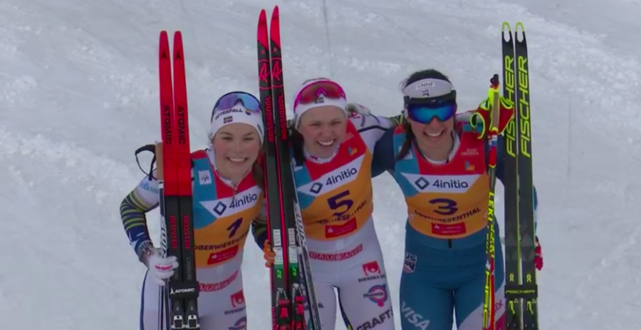 Fondo, Mondiali Under 23 - Nelle sprint femminili vince sempre la Svezia: doppietta Ribom - Hagstroem a Oberwiesenthal