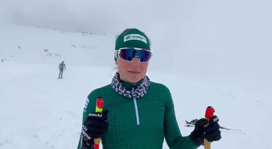 """VIDEO, Fondo - Anna Comarella: """"Devo lavorare tanto sulla spinta"""""""