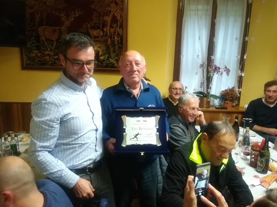Fondo - A Frassinoro si è svolto il pranzo degli ex atleti del Comitato FISI CAE