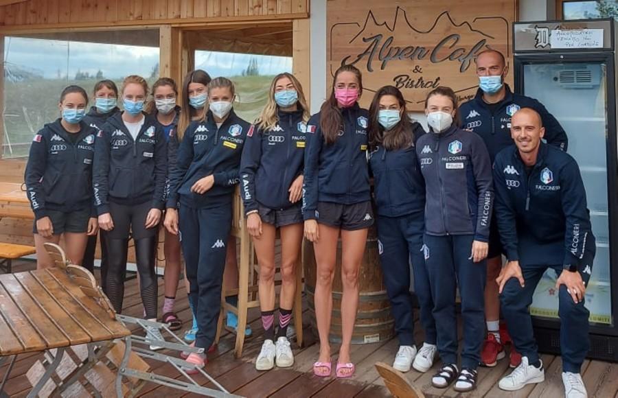 Sci di Fondo - Fotogallery e resoconto del raduno delle azzurre a Lavazé