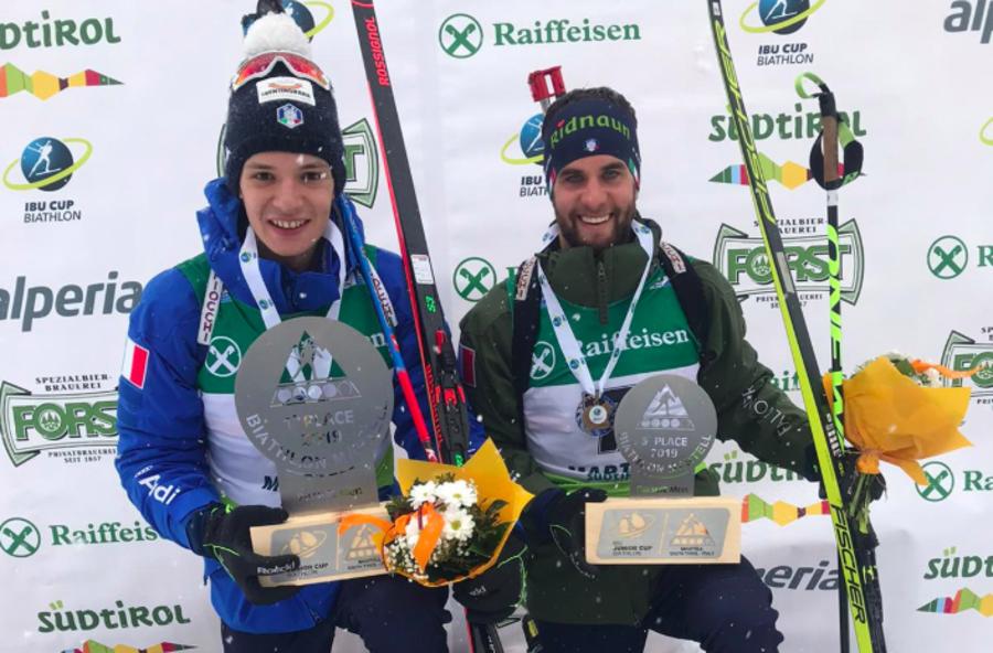 Biathlon - IBU Cup Junior: splendido Giacomel, vittoria nella pursuit in Val Martello; 3° Braunhofer