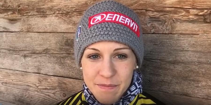 """Fondo, Greta Laurent guarda avanti: """"Voglio migliorare la mia posizione in classifica generale sprint"""" (VIDEO)"""