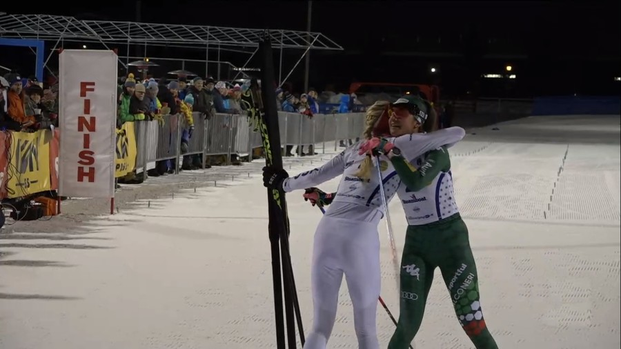Combinata Nordica Femminile - Gianmoena seconda nella gara FIS di Falun