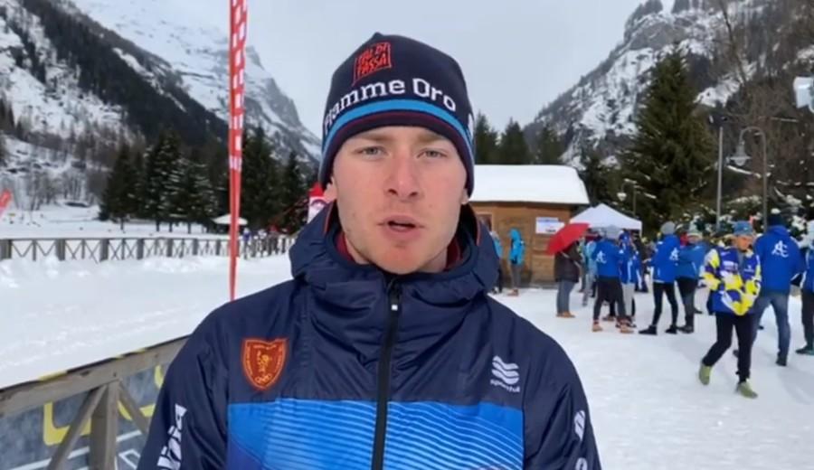 """Fondo - Giovanni Ticcò commenta le gare di Gressoney: """"Una due giorni positiva, sono soddisfatto"""" (VIDEO)"""