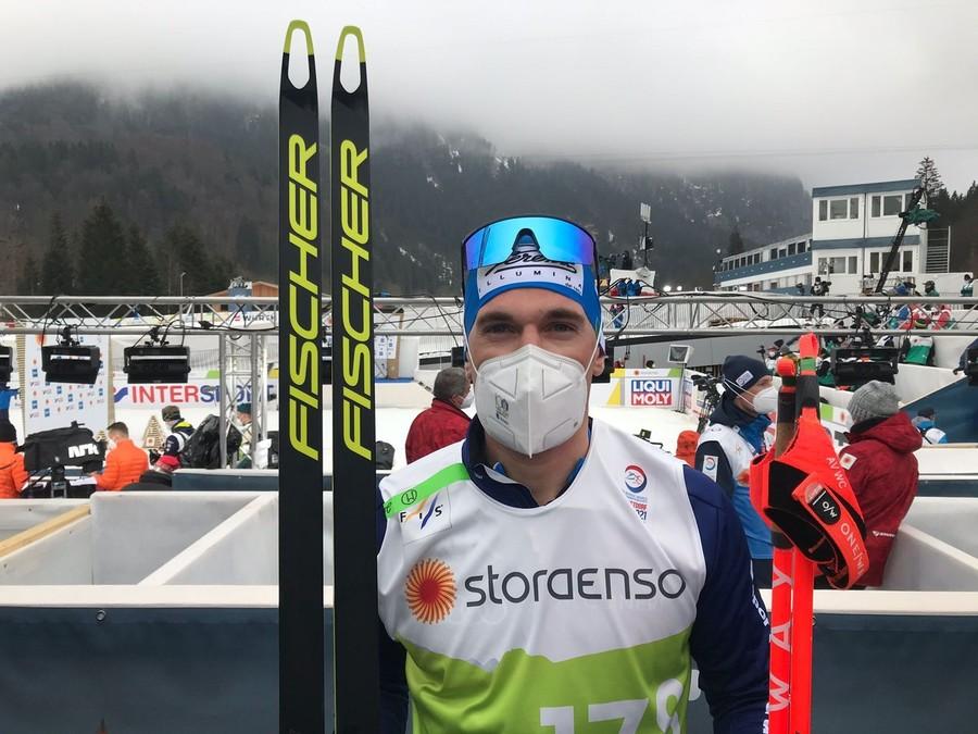 """Oberstdorf 2021 - Fondo, Giandomenico Salvadori: """"Mi aspettavo di stare meglio in classico"""""""