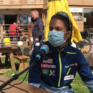 """Heidi Weng a Fondo Italia: """"Mi è servito aiuto per tornare a gareggiare, quindi ottenere quei risultati al Mondiale è stato bellissimo"""""""
