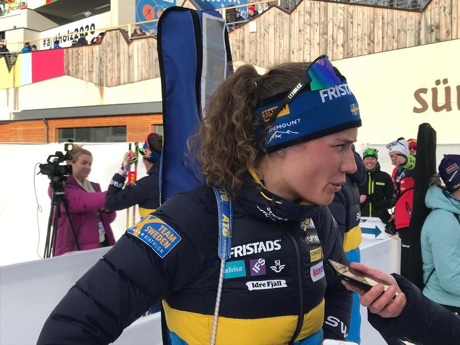 "Anterselva 2020 - Hanna Öberg: ""Non riesco a spiegarmi cosa sia accaduto"""
