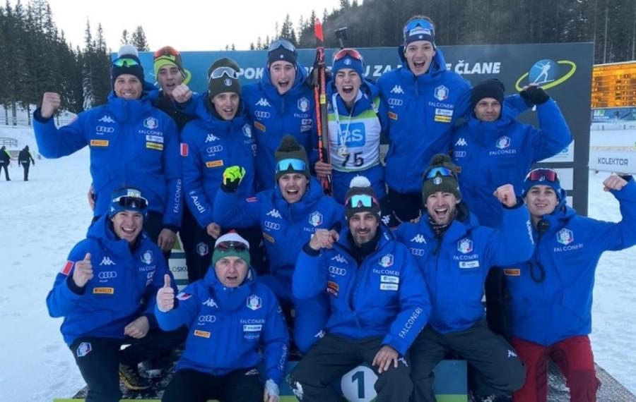 Biathlon - IBU Cup Junior: grande vittoria per Didier Bionaz nella sprint di Pokljuka!