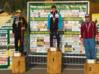 I primi tre della gara juniores