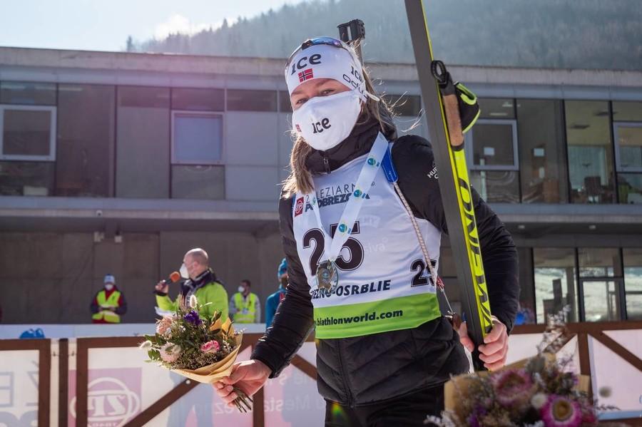 Karoline Erdal - Credit: IBU/Stancik