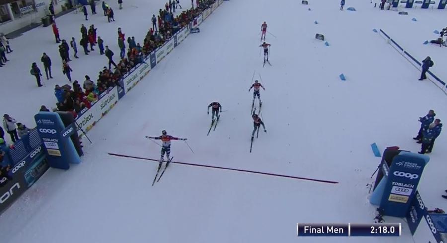 Tour de Ski, Sprint maschile Dobbiaco – Klæbo si impone senza problemi