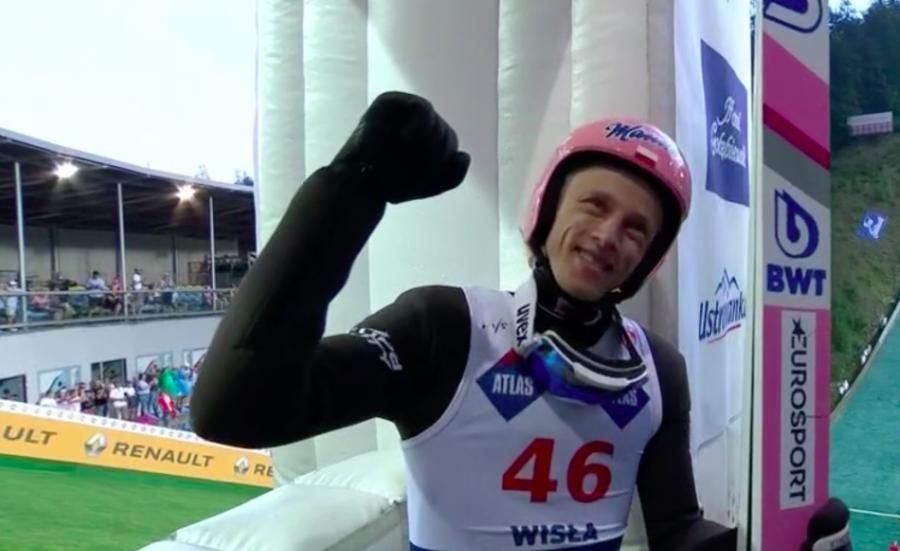 Salto maschile - Il Grand Prix si è aperto con due successi polacchi a Wisla