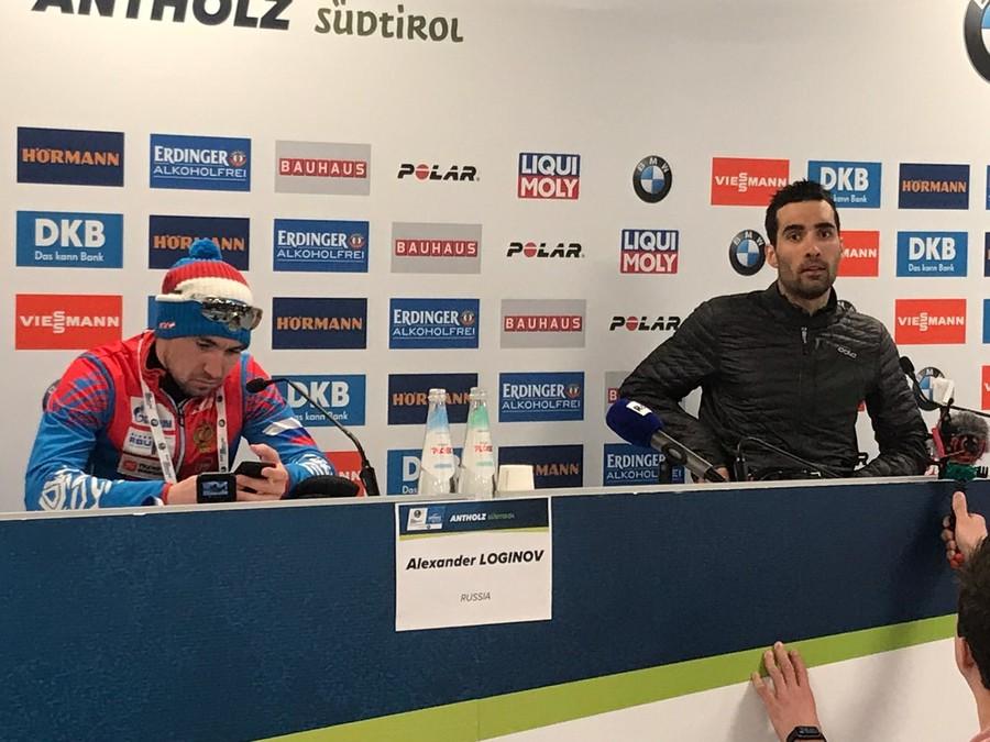 """Biathlon - Fourcade: """"Cosa ho detto a Loginov? Prendi le giuste decisioni e gareggia con cuore e passione"""""""