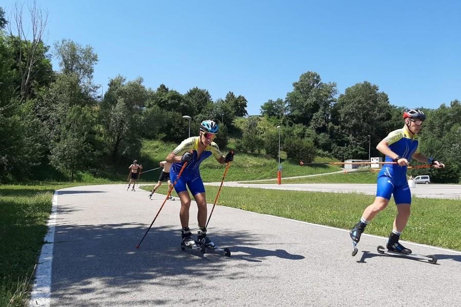 Skiroll - Raduno a Forni Avoltri per la squadra del Comitato Veneto