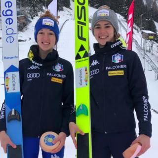Salto - La squadra femminile in raduno a Seefeld dal 4 all'8 gennaio